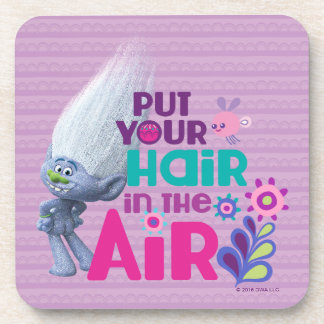 Trolls | Put Your Hair in the Air Beverage Coasters