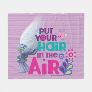 Trolls | Put Your Hair in the Air Fleece Blanket