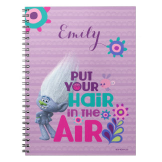 Trolls | Put Your Hair in the Air Spiral Notebook