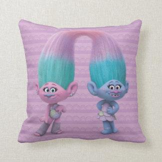 Trolls | Satin & Chenille Throw Pillow