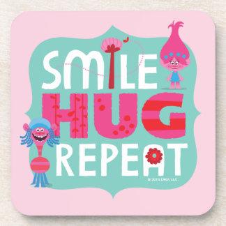 Trolls | Smile, Hug, Repeat Coaster
