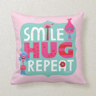 Trolls | Smile, Hug, Repeat Cushion