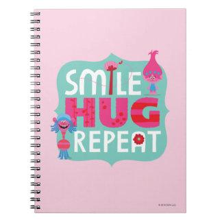 Trolls | Smile, Hug, Repeat Notebooks