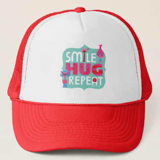 Trolls | Smile, Hug, Repeat Trucker Hat