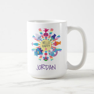 Trolls | Snack Pack Rainbow Sun Coffee Mug