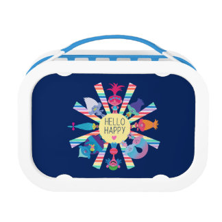 Trolls | Snack Pack Rainbow Sun Lunch Box