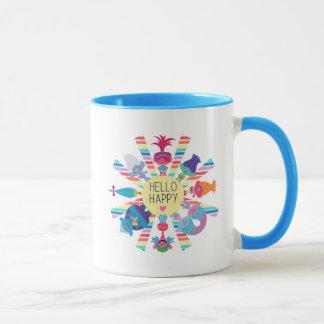Trolls | Snack Pack Rainbow Sun Mug