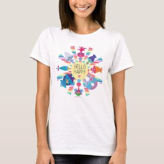 Trolls   Snack Pack Rainbow Sun T-Shirt
