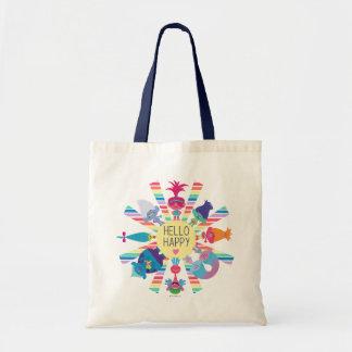 Trolls | Snack Pack Rainbow Sun Tote Bag