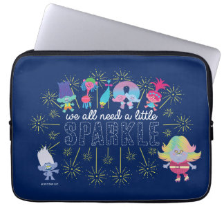 Trolls | The Snack Pack Sparkles Laptop Sleeve