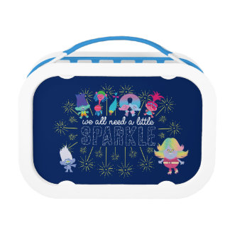 Trolls   The Snack Pack Sparkles Lunch Box