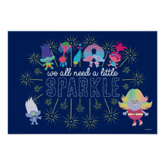 Trolls | The Snack Pack Sparkles Poster