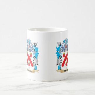 Troman Coat of Arms - Family Crest Basic White Mug