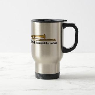 Trombone Attitude Stainless Steel Travel Mug
