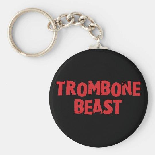 Trombone Beast Keychain
