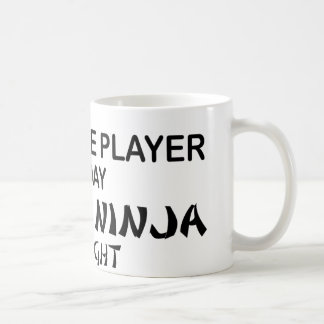 Trombone Deadly Ninja by Night Coffee Mug