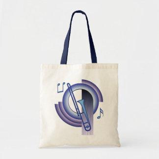 Trombone Deco2 Tote Bag