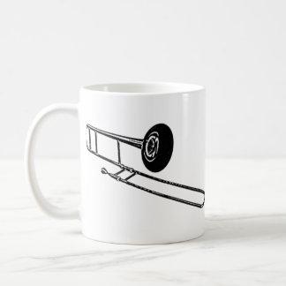 """Trombone """"Drawing"""" Coffee Mug"""