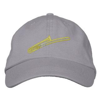 Trombone Embroidered Cap