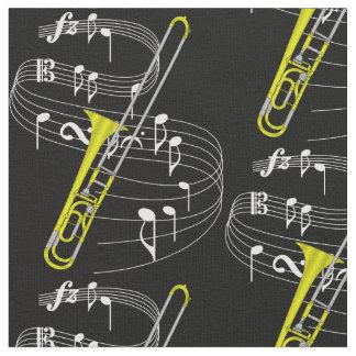 Trombone Fabric- Dark Fabric