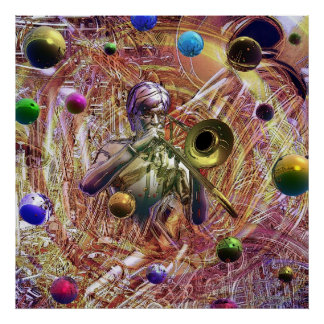 Trombone Fantasy Poster