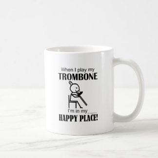 Trombone Happy Place Coffee Mug