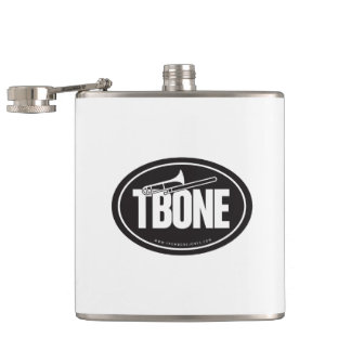 Trombone Hip Flask