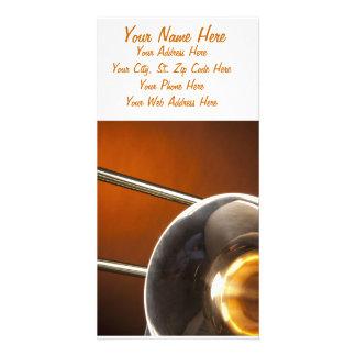 Trombone Image Photo Cards