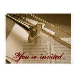 Trombone invitation