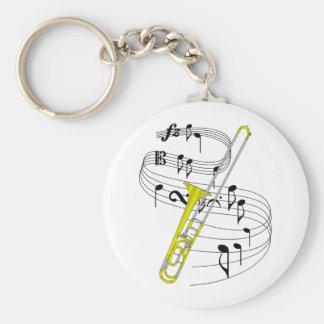 Trombone Keychains