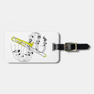 Trombone Tag For Bags