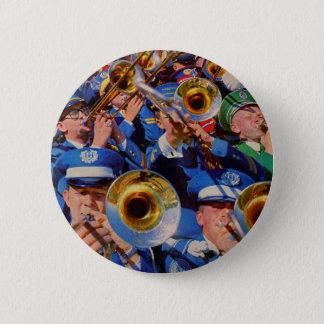 trombone mob AKA band geeks gone wild 6 Cm Round Badge