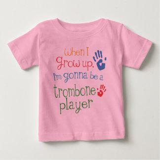 Trombone Player (Future) Infant Baby T-Shirt