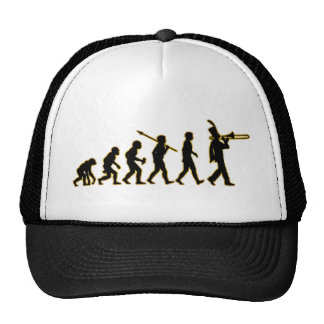 Trombone Player Mesh Hat