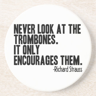 Trombone Quote Coasters