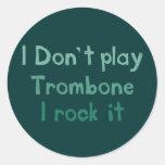 Trombone Rock It Stickers