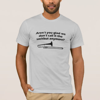 Trombone Sackbut T-Shirt