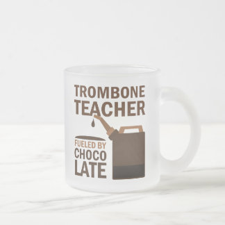 Trombone Teacher (Funny) Chocolate Coffee Mug