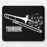 Trombone Vector Design Mouse Pad
