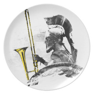 Trombone Warrior Plates