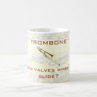 Trombone:  Who needs valves?  Mug