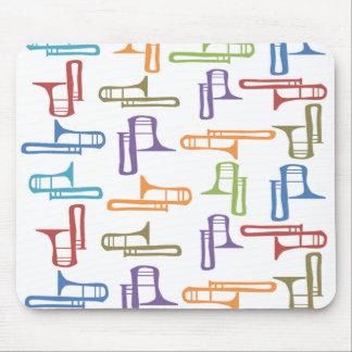 Trombones Mouse Mat