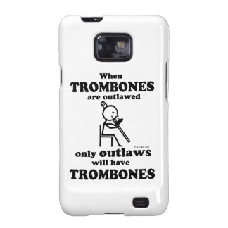 Trombones Outlawed Galaxy S2 Cover