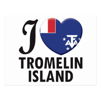 Tromelin Island Love Postcard