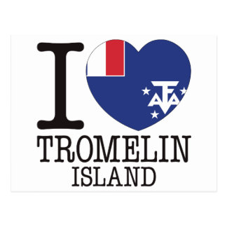 Tromelin Island Love v2 Postcards