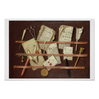 Trompe L'Oeil Composition Print