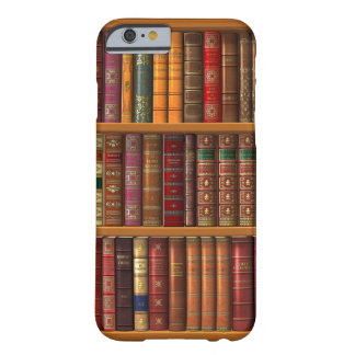 "Trompe l'oeil ""French library"" Barely There iPhone 6 Case"