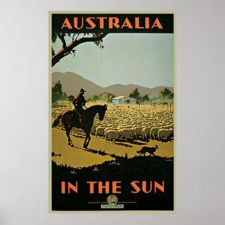 Trompf Australia In The Sun Poster