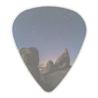 Trona and the Milky Way Acetal Guitar Pick