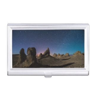 Trona and the Milky Way Business Card Holder